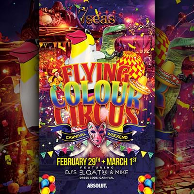 Carnival Weekend poster
