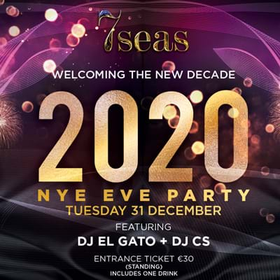 New Year's Eve party at 7 Seas
